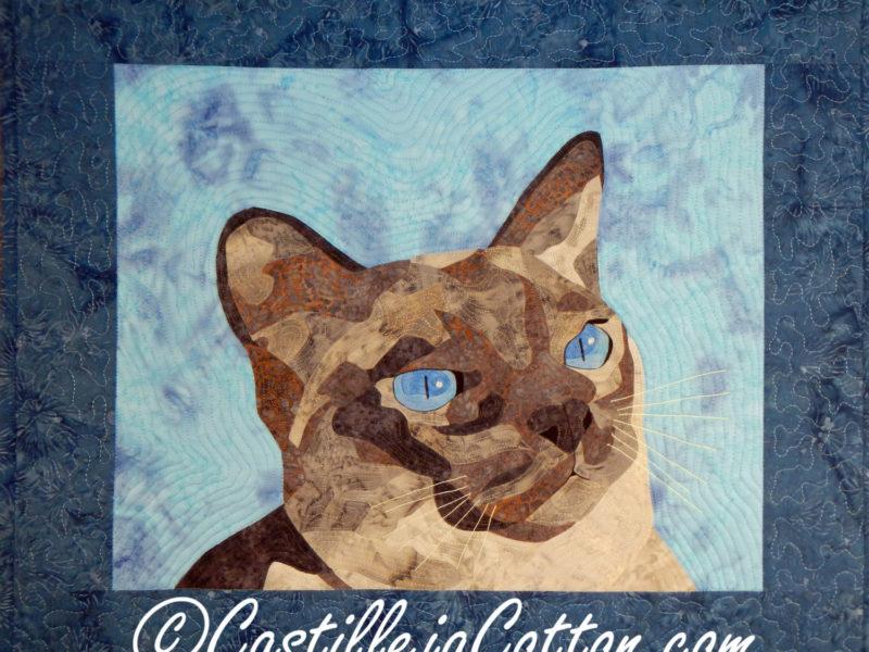 Castilleja Cotton Jake the Cat Quilt