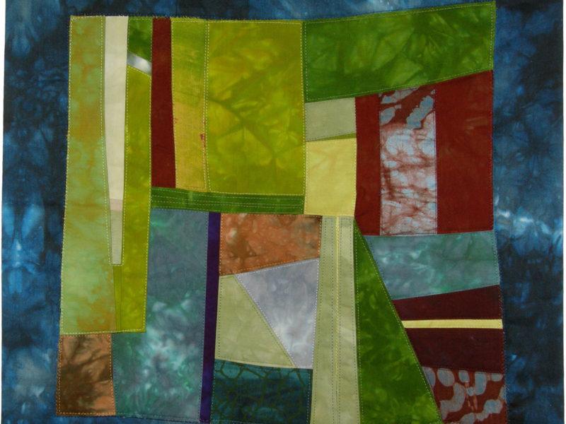 Floris Flam Art Quilt