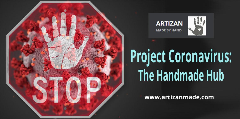 Coronavirus Project: The Handmade Hub banner
