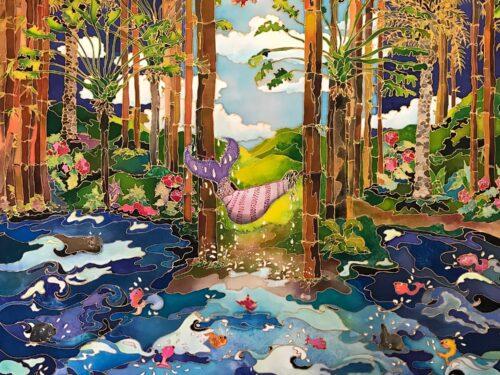 The Girl and the Sea by Linnea Pergola